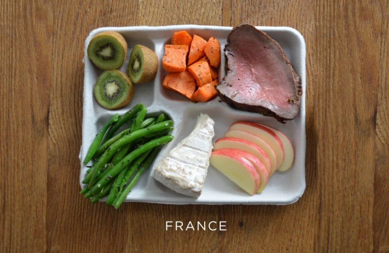 francie_france-steak-carrots-green-beans-cheese-fresh-fruit