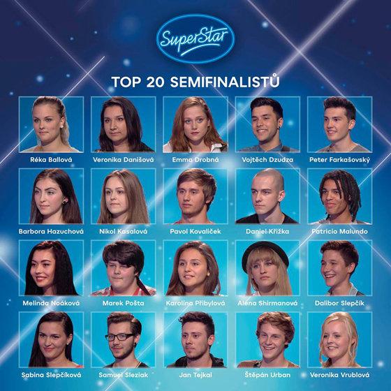 Víme, kdo jsou finalisté SuperStar 2015! Odteď už jen živě