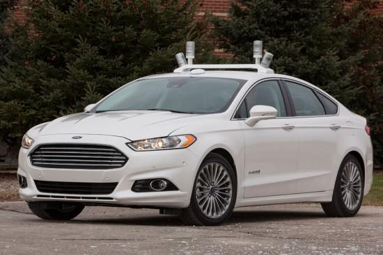 Samořídící vozidlo Fordu