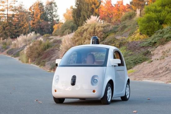 Samořídící vozidlo Googlu